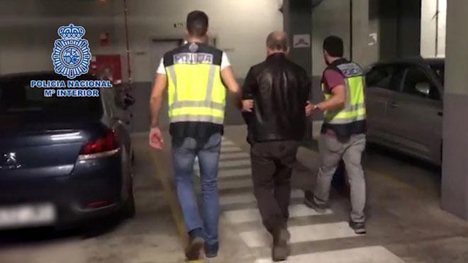 La Policía detiene a cuatro miembros de la Ndrangetha que pretendían asentarse en España .