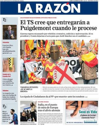 El Supremo confía en que si procesa a Puigdemont Bélgica le entregará