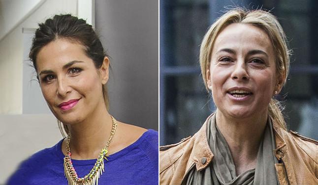 La presentadora Nuria Roca y la exalcaldesa de Alicante Sonia Castedo.