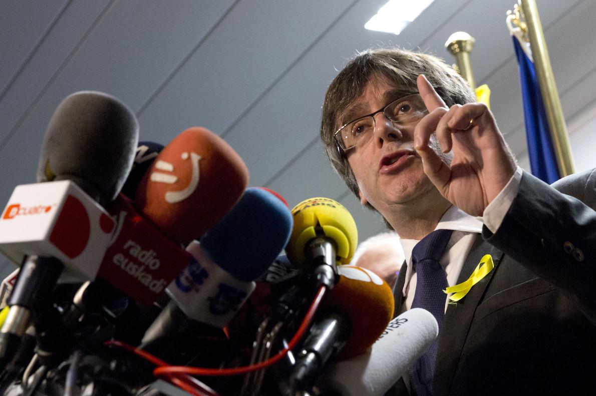 El PDECat condiciona la vuelta de Puigdemont a un pacto político con el Estado.
