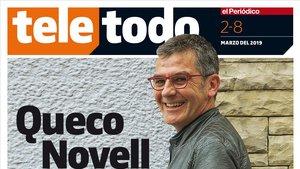 Queco Novell, en la portada de 'Teletodo'.