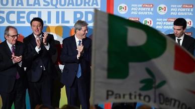 La izquierda italiana se encamina hacia la derrota por su división