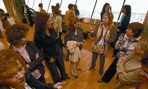 Reunión de directivas celebrada en Barcelona.