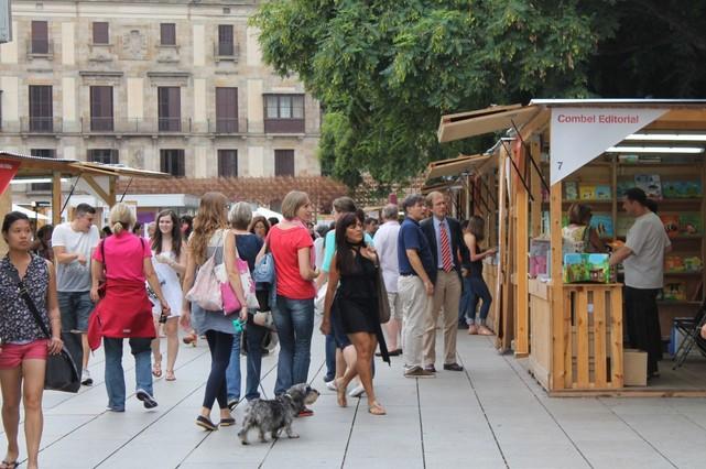 La Setmana del Llibre en Català acull 127 expositors, un 21% més quelany 2014.