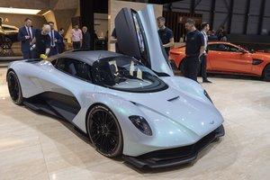 Último modelo de Aston Martin presentado al mercado.