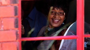 Winnie Mandela, en el 2009.