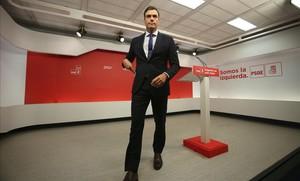 El PSOE assegura eleccions a Cs si Sánchez guanya la moció