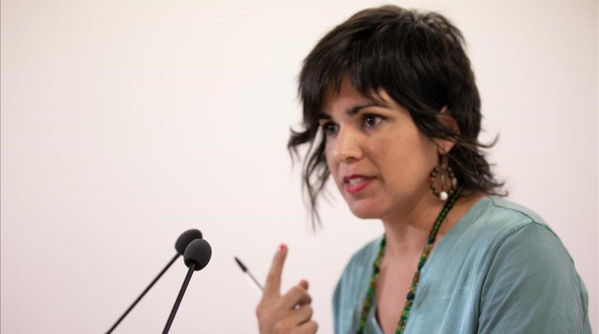La líder d'Endavant Andalusia Teresa Rodríguez dona a llum la seva segona filla