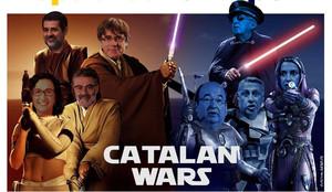 Uno de los 'memes' que vincula Star Wars y el 'procés'.
