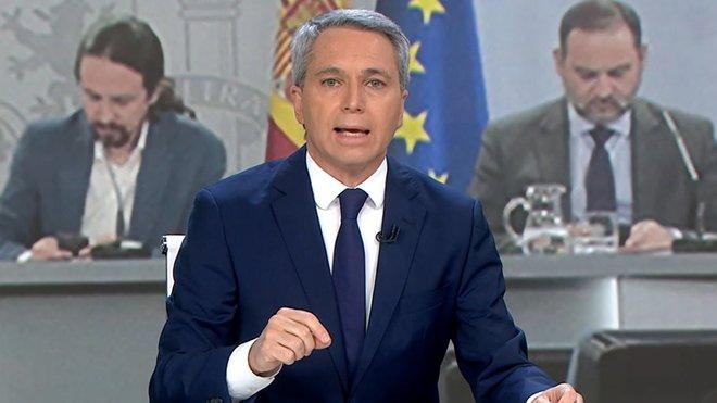 """Vicente Vallés responde a Pablo Iglesias: """"Considera que hay que naturalizar los insultos"""""""