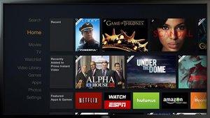 Imagen promocional de un televisor con diferentes ofertas de plataformas por 'streaming'.