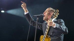 Bryan Adams, en una imagen de archivo porque los fotógrafos se negaron a aceptar las inasumibles condiciones que imponía en su concierto del miercoles en el Sant Jordi.