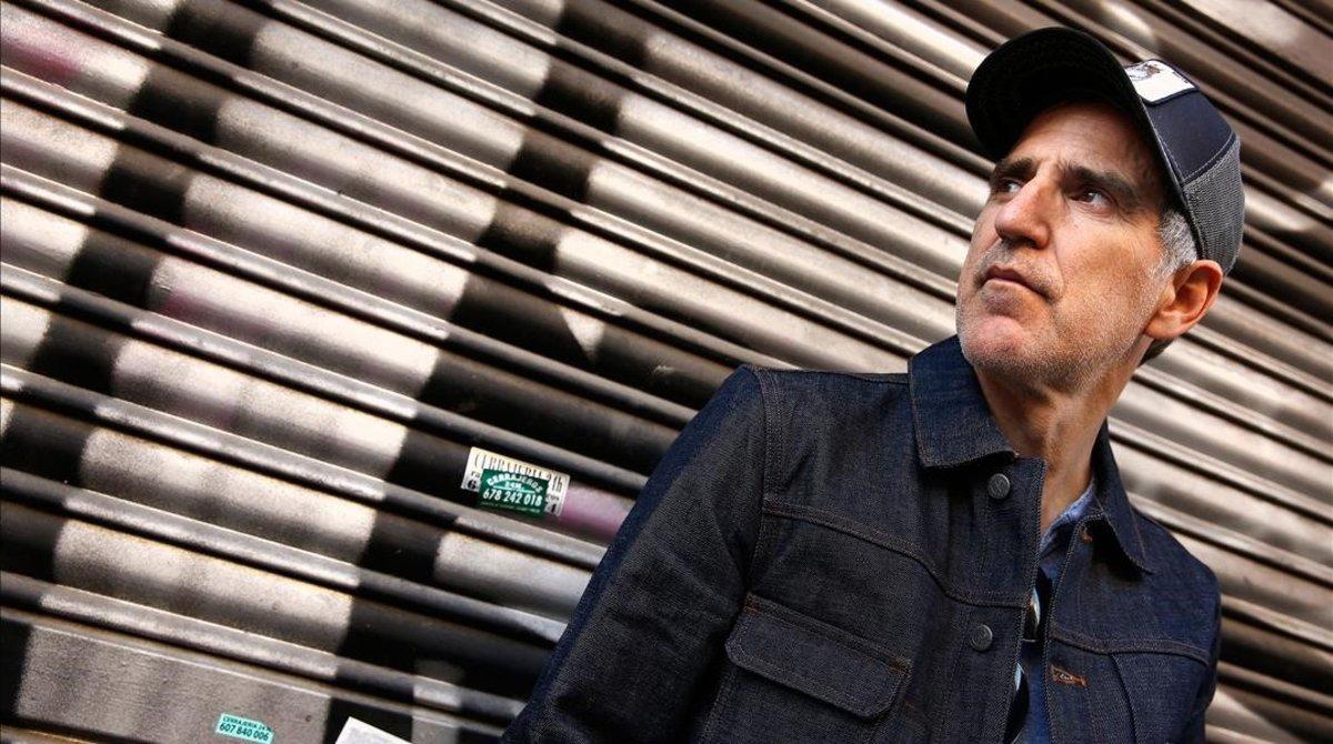 Mikel Erentxun, retratado en Barcelona en el 2017.