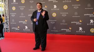 Guillermo del Toro, antes de la prèmiere de La forma del agua en Sitges.