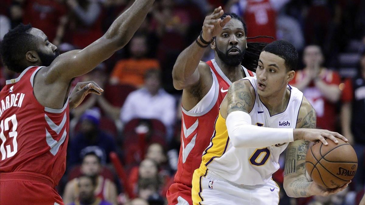 Els Lakers acaben amb la ratxa triomfal dels Houston Rockets
