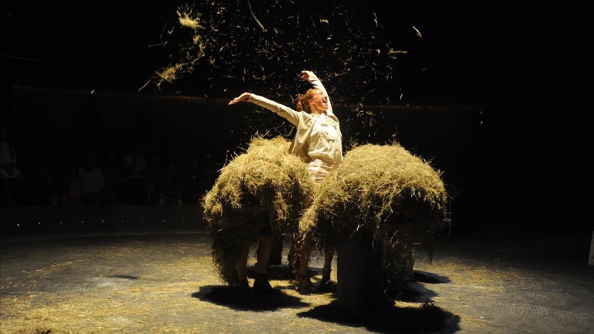 Una escena de 'Bèsties', de Baró d'Evel.