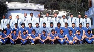 La expedición italiana en el Mundial 82.
