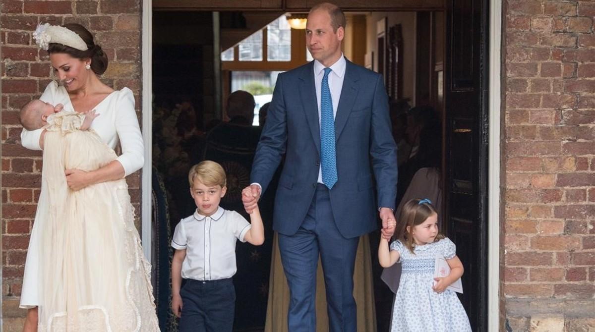 El príncep Lluís, batejat a Londres