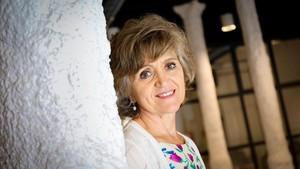 María Luisa Carcedo, alta comisionada del Gobierno para la Pobreza Infantil, el pasado jueves, en Barcelona.