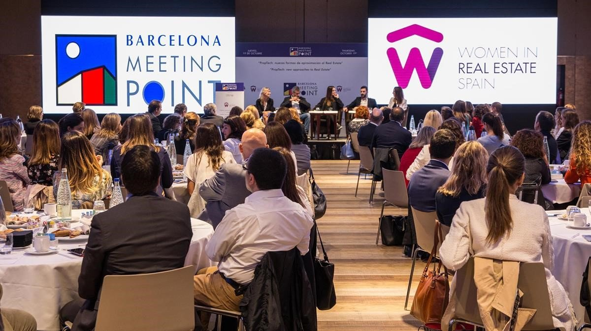 Una de las jornadas del Barcelona Meeting Point, celebradas en la última edición.