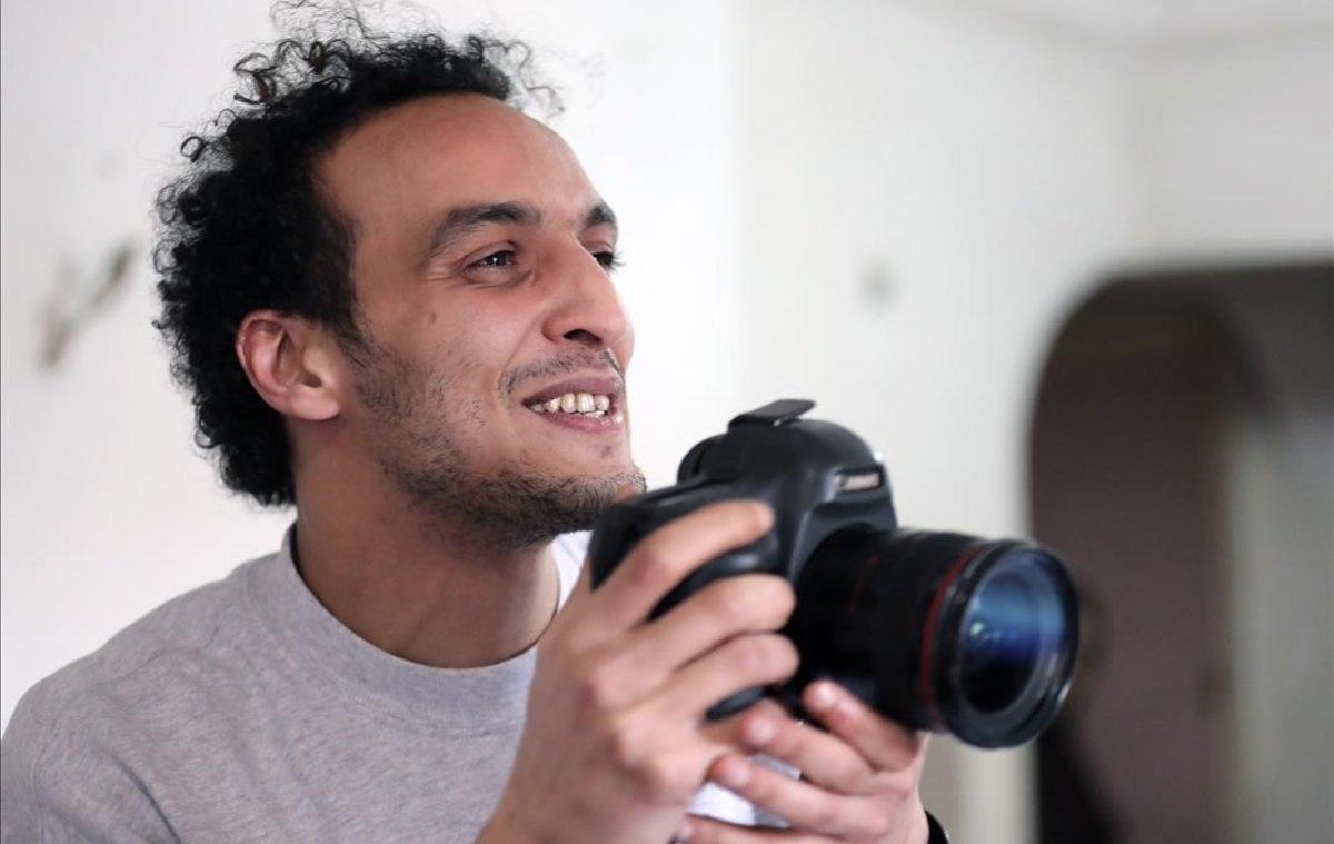 El fotògraf egipci Shawkan, alliberat després de complir cinc anys de presó