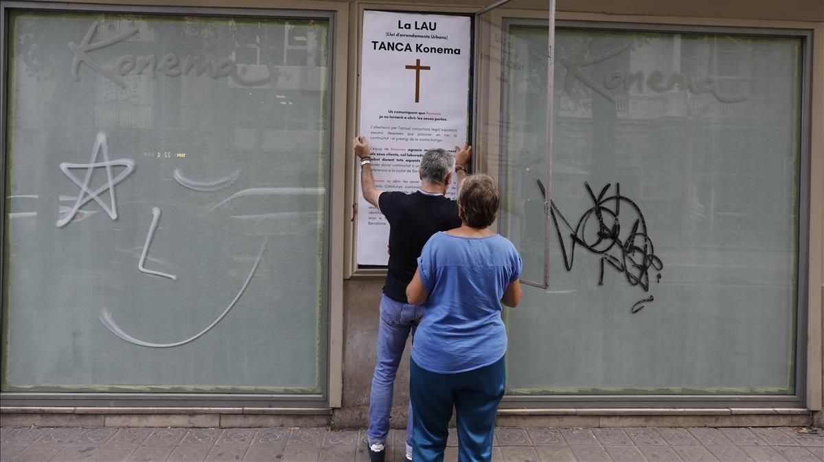 Rèquiem per Konema, una altra botiga amb arrelament que tanca a Barcelona