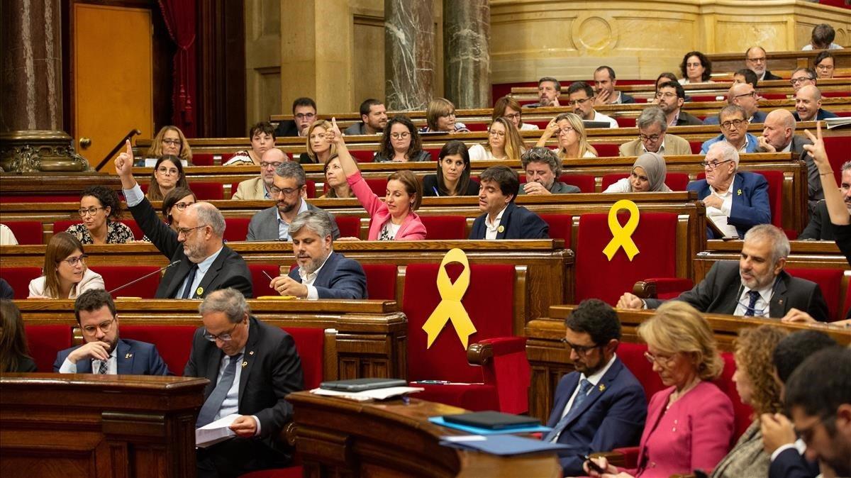 ¿Veu bé que el Parlament torni a debatre l'autodeterminació?