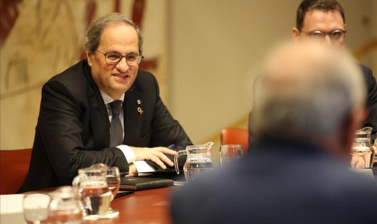 """""""La recuperació de l'estatus del català hauria d'estar present a la taula de diàleg"""""""