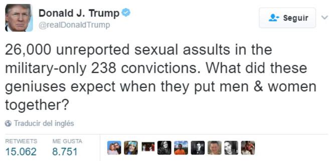 Las 10 Frases Machistas Más Salvajes De Donald Trump