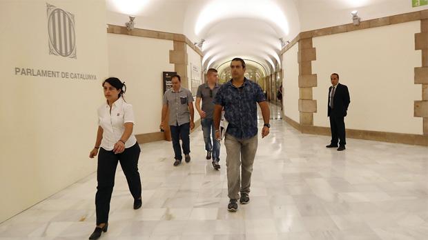 La Guàrdia Civil entra al Parlament