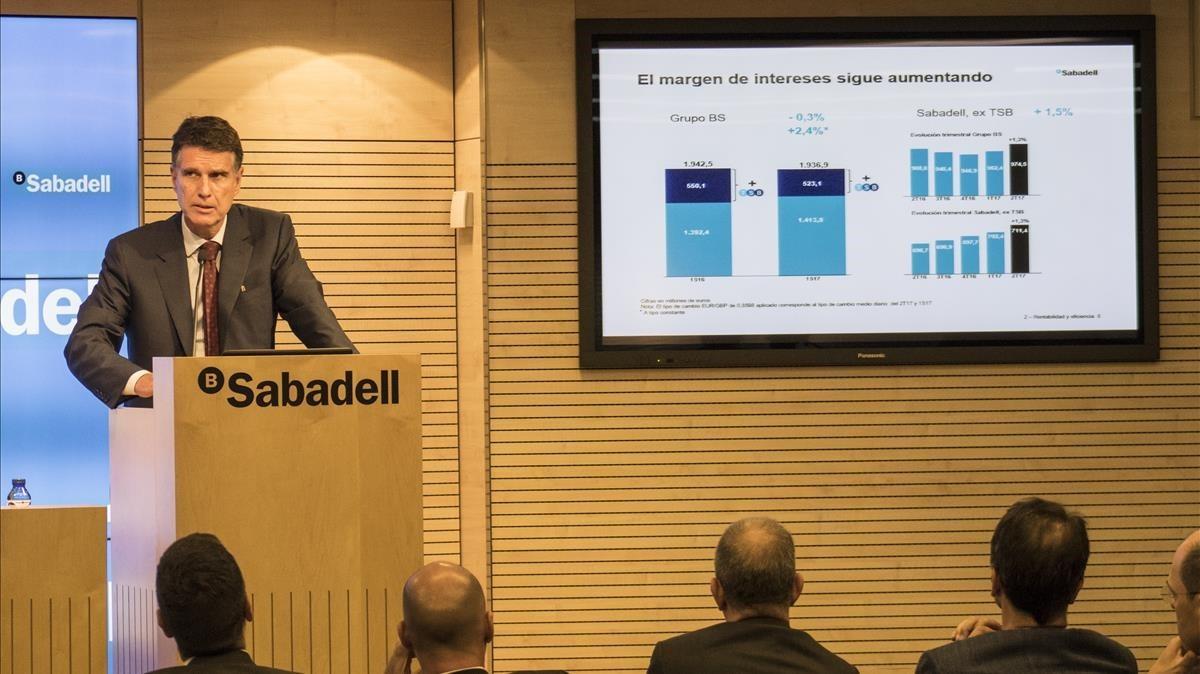 El banc sabadell aumenta su beneficio el 5 9 for Banc sabadell pisos