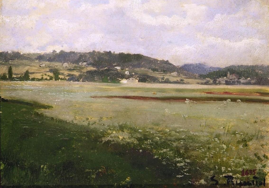 zentauroepp39482085 icult paisatge santiago rusi ol 1889 biblioteca museu v 170728180859