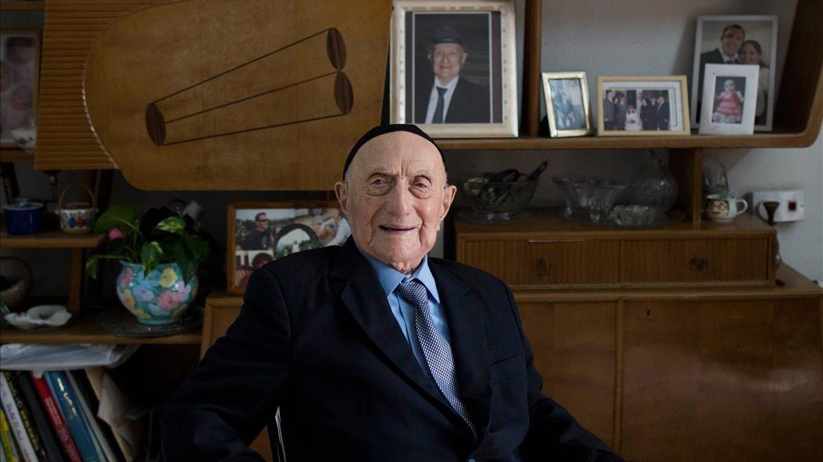 mbenach39655394 haifa israel 27 01 2015 file holocaust survivor yis170812100607