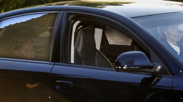 La reina Letizia acompanya les seves filles en el seu primer dia descola