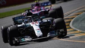 Hamilton, quinta pole consecutiva en Albert Park
