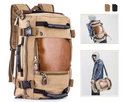 Viajar con la mochila multifuncional de Overmont