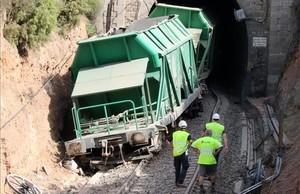 Restablerta la circulació ferroviària entre els Guiamets i Marçà