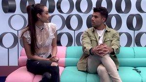 Adara y Pol en el confesionario de 'GH VIP 7'.