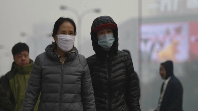 Alerta por contaminación en el norte de China.