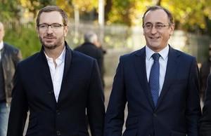 Javier Maroto (izquierda) y Alfonso Alonso.