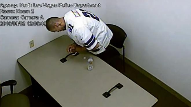 Alonso Pérez s'escapa de la sala d'interrogatoris.