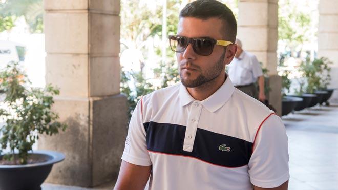Ángel Boza, integrante de la Manada, detenido por robo y agresión en Sevilla.