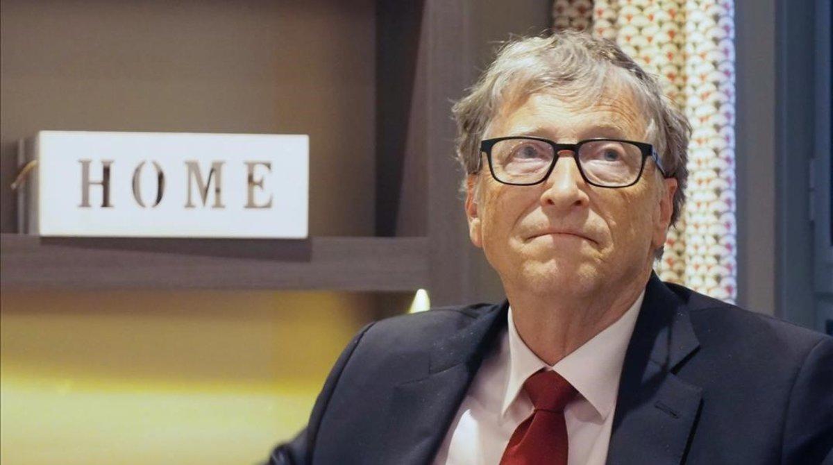 Bill Gates, en una foto del pasado octubre, en Lyon.