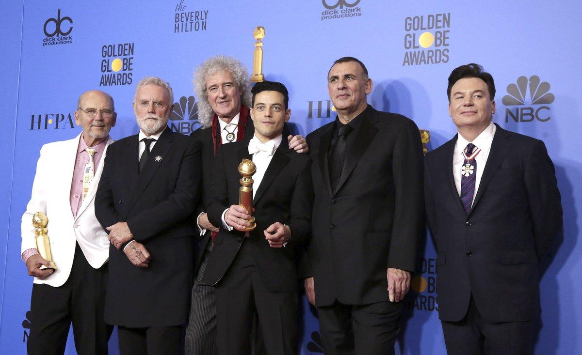 Bohemian Rhapsody ganó el Globo de Oro a mejor película.