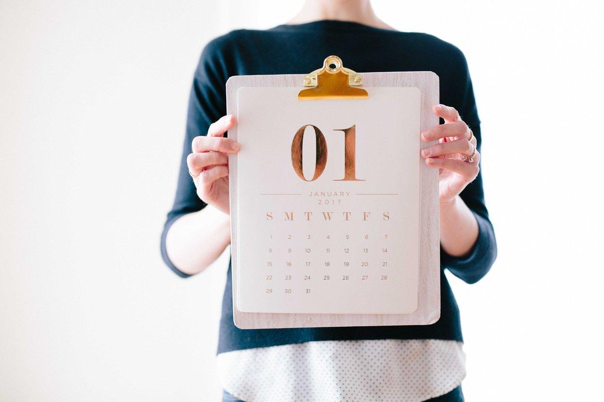 Agenda de enero para el emprendedor