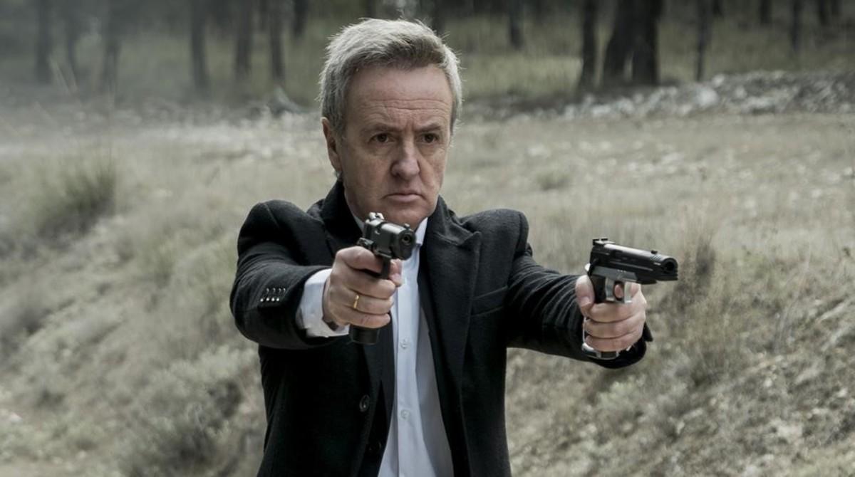 Carlos Hipólito, en una contundente escena de la serie de Antena 3 TV 'Vis a vis'.