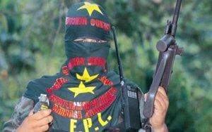 Guerrillero delEjército Popular de Liberación de Colombia.
