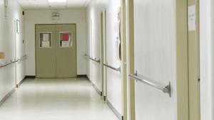 Un pasillo de un hospital, en una imagen de archivo