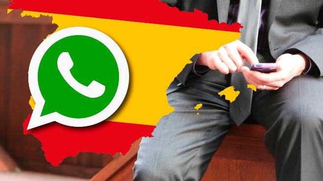 Dades de WhatsApp a Espanya