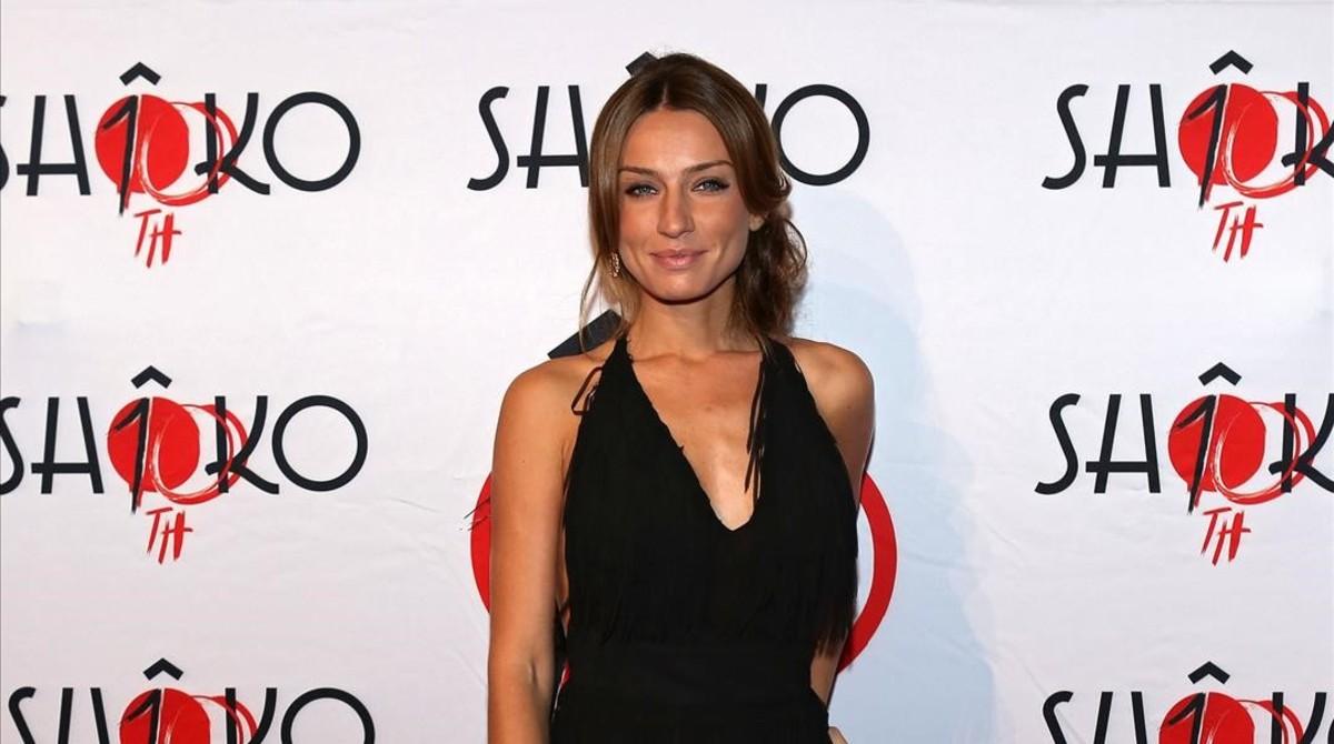 La modelo Raquel Jiménez mantuvo un romance con David Bisbal.